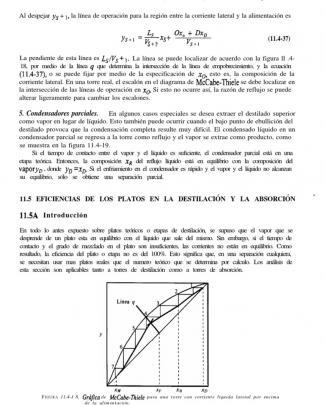 Eficiencia De Platos En Destilación Y Absorción