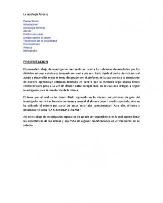 La Sexología Forense Monografia Completo
