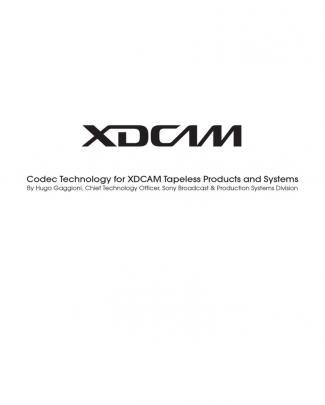 Xdcam Whitepaper F