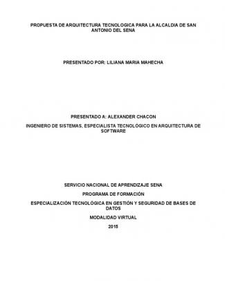 Aa2-ev1-propuesta De La Arquitectura Tecnológica Para La Alcaldía De San Antonio Del Sena