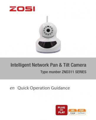 User Manual Zosi Znd311 Series