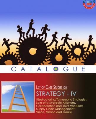 List Of Case Studies On Strategy(catalogue Iv)