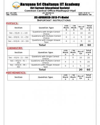 07-07-14 Jr.iplco Jee Adv Wta-9 (2013 P1) Final Q'paper