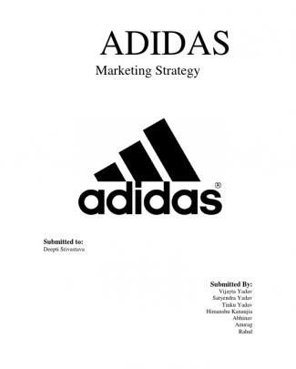Adidas- Marketing Mix