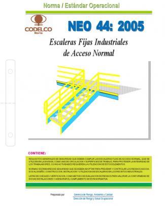 Neo-44 Escaleras Fijas Industriales De Acceso Normal.