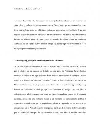 Kodama Cartonera Las Editoriales Cartoneras En México