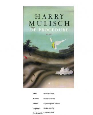 Nederlands - De Procedure Van Harry Mulisch