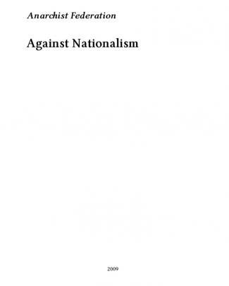 Anarchist Federation Against Nationalism