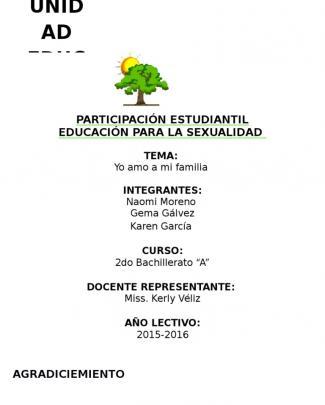 Proyecto De Participacion Estudiantil