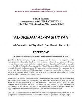 Al-aqidah Al-wasitiyyah (traduzione In Italiano)