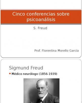 Present Cinco Conferencias Sobre Psicoanálisis