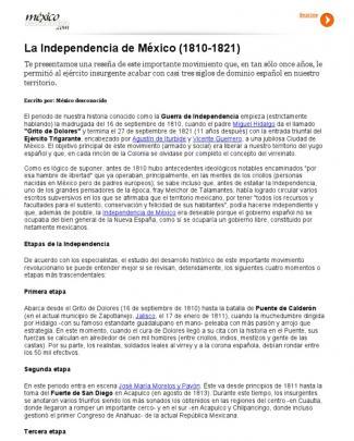 La Independencia De México (1810-1821) _ México Desconocido