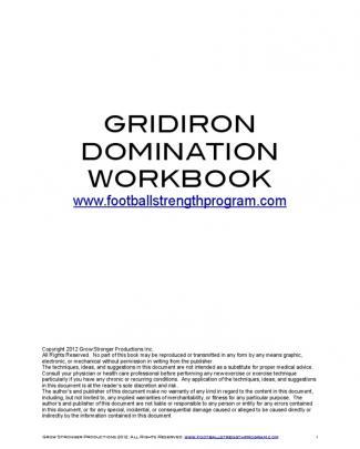 Gridiron Domination Manual2