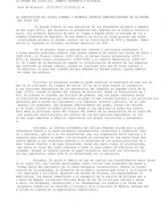 Tema 39. La Construcción Del Estado Liberal Y Primero Intentos Democratizadores En La España Del Siglo Xix. Temario Geografía E Historia.