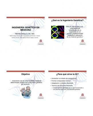 Ingenieria Genetica 2013
