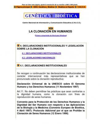 Genética Y Bioética - Juan Ramón Lacadena - Cn.
