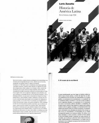 Loris Zanatta.capítulo 5 Y Selección Del 6_el Ocaso De La Era Liberal
