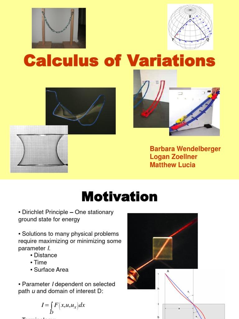 Barbara Wendelberger - Calculus_of_variations - ID ...